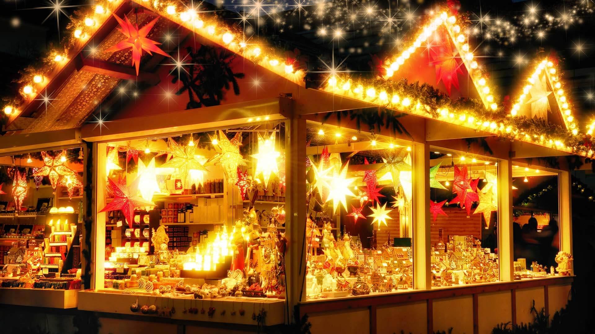 Albero Di Natale Yahoo.I Mercatini Di Natale Sul Lago Di Garda