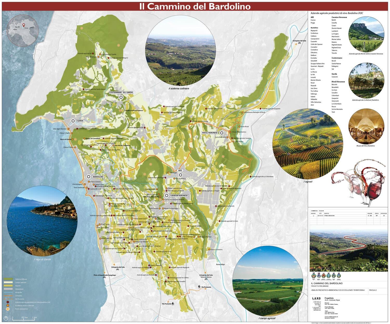 Cartina Lago Di Garda E Dintorni